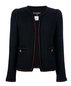 Chanel Vintage Cropped Wool Jacket media gallery on Coolspotters. See photos, videos, and links of Chanel Vintage Cropped Wool Jacket. Chanel Tweed Jacket, Chanel Style Jacket, Chanel Outfit, Chanel Fashion, Chanel Chanel, Channel Jacket, Couture Details, Jackett, Vintage Chanel