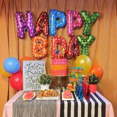 #diy #birthdaycake and #decor #madewithlove for my sister !  #blog #blogger #blogging #blogpost #cake #creative #handmade #foodie #foodblog #food #desserttable by solafly
