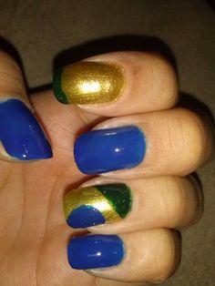 Nail art design, copa, brasil, brazil