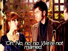 Dr Who and Donna Married?
