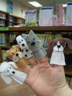 [EDIT: There is anUPDATED version of this post!!] The Puppy Finger Puppets(pictured below, in case you missed our original post) I created for The Monkey...