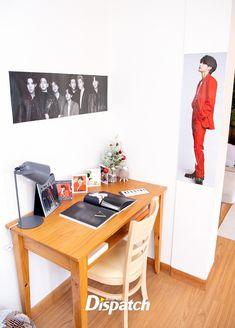 Bts Name, Bts Dispatch, Bts Merch, Desk Calendars, Office Desk, Corner Desk, Taehyung, Furniture, Design