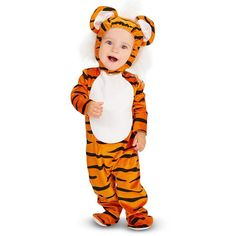 Baby Lil' Tiger Costume, Infant Unisex, Size: 12-18MONTH, Multicolor