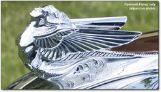 Flying Lady - Plymouth hood ornament  by Avard T. Fairbanks