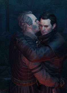 The Witcher – Higher Vampires: Regis and Dettlaff