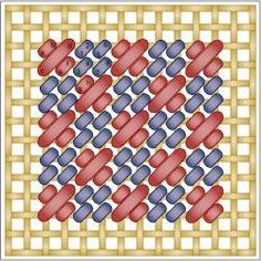 Checkered Mosaic Stitch