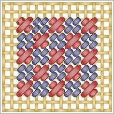 Checkered Mosaic Stitch