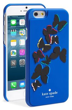 kate spade new york kate spade new york 'butterfly' iPhone 6 case available at #Nordstrom