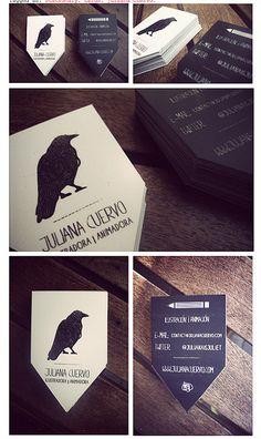 Identity and Business Card Design.  www.julianacuervo.com