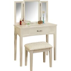 ORE Furniture Victoria Vanity Set With Mirror U0026 Reviews | Wayfair