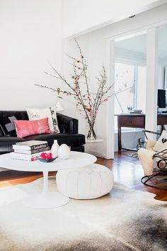 Decorating With Blossoms - http://www.ikeafurnitureideas.com/decorating-with-blossoms.html