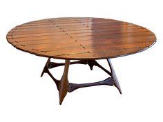Pacific Greene Navajo Circular Dining Table  on Chairish.com.  $1500.  From Fiji