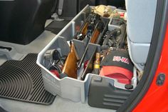Perfect for hunting trips and storing your guns safely in your pickup truck - DU-HA Storage Units - www.du-ha.com