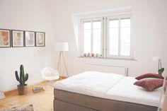 Wunderschönes, stilvoll eingerichtetes WG-Zimmer in Frankfurt.  #Stil #WG #room