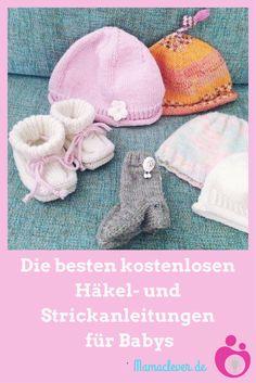 Die besten kostenlosen Häkel- und Strickanleitungen für Babys und Kleinkinder.