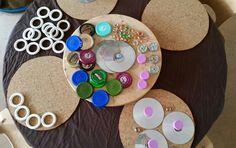 Exploring circles at Chadwell Preschool