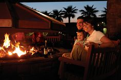 S'mores and wine by the fire pit...yes please!  #SanDiego #Escondido #sunny #WelkResort