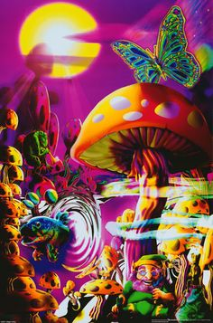 Psychedelic Posters | Psychedelic Wallpapers, Posters, Cards & Postcards