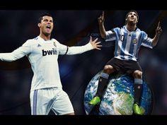 【足球天下】超級加速!C羅像飛機一樣追上梅西!Super speed!Cristiano Ronaldo catch up with Messi...