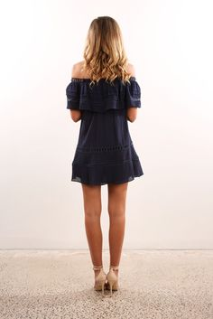 Check out this product from Jean Jail: Unassigned: Caspian Dress Navy