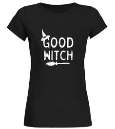 CHECK OUT OTHER AWESOME DESIGNS HERE!     Whether you're a practicing white witch or just a witch during Halloween, this fun tee shirt is perfect for October.   Tee shirt features a witch hat and broom, the perfect witch accessories. T-shirt is slim fit, so size up if you prefer a roomier fit.