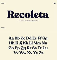 Recoleta Font Family from Latinotype Read more. Web Design, Font Design, Graphic Design Fonts, Graphic Design Inspiration, Branding Design, Typographie Logo, Typographie Inspiration, Typeface Font, Typography Letters