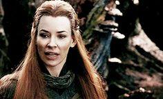 the hobbit gif4 Evangeline Lilly hobbitgif hobbitedit tauriel pointless gifset is pointless but it