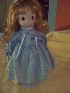Very nice Porcelain doll, Precious Moments, good condition, has a stand Porcelain Dolls For Sale, Precious Moments, The Ordinary, Disney Characters, Fictional Characters, Vibrant, In This Moment, Disney Princess, Nice