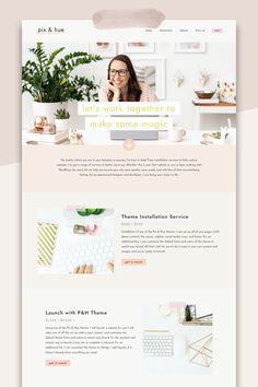 Website Design Layout, Blog Layout, Website Design Inspiration, Blog Design, Beauty Web, Beautiful Website Design, Web Design Examples, Homepage Template, Website Services