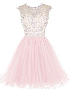 Tideclothes Short Beading Prom Dress Tulle Evening Dress ... https://www.amazon.com/dp/B018DTSMPO/ref=cm_sw_r_pi_awdb_x_xpjTybET2Y3TA
