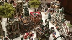 2015 Christmas village in the making