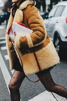 MFW Sheepskin coat. Always in fashion
