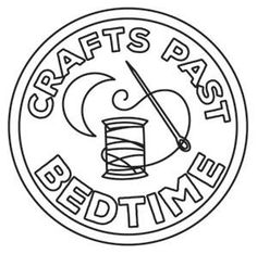 Crafty Merit Badges - Crafts Past Bedtime_image Pattern Coloring Pages, Coloring Book Pages, Printable Coloring Pages, Types Of Embroidery, Embroidery Patterns, Circuit Crafts, Color Quotes, Urban Threads, Art Deco Posters