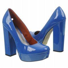 MIA Uptown Girl Shoes (Cobalt Patent) - Women's Shoes - 8.5 M