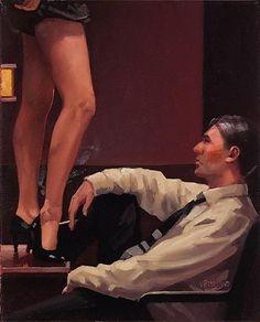 Legs Eleven - Jack Vettriano