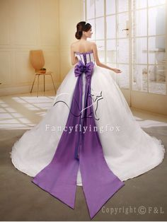 View 24 Best wedding dresses with purple flowers images Purple Bridesmaid Dresses, 2016 Wedding Dresses, White Wedding Dresses, Purple Wedding, Wedding Gowns, Prom Dresses, Formal Dresses, Bridal Gowns, Ball Gowns