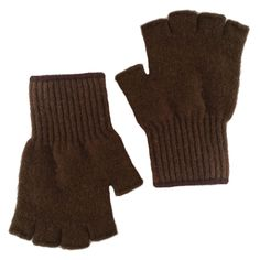 Extreme Bison Down Fingerless Gloves from The Buffalo Wool Co.