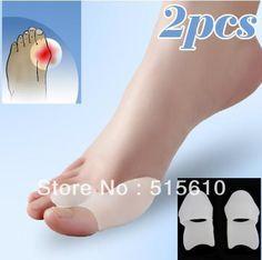 Freeshipping Gel Bunion Big Toe Spreader Eases Foot Pain Foot Hallux Valgus Guard Cushion
