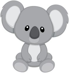 Koala clipart kawaii - pin to your gallery. Explore what was found for the koala clipart kawaii Animal Drawings, Cute Drawings, Baby Animals, Cute Animals, Belly Painting, Applique Patterns, Baby Quilts, Illustration, Art For Kids