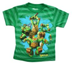 Teenage Mutant Ninja Turtles Boys T Shirt: Clothing