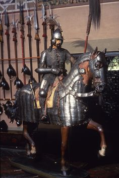 Horse Armor, Arm Armor, Medieval Knight, Medieval Armor, Turkish Military, Ottoman Turks, Horse Tail, Armours, Middle Ages