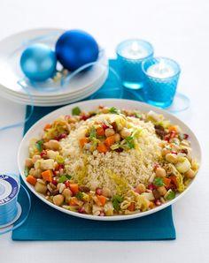 Prova le ricette con il cous cous di Sale&Pepe per portare a tavola primi piatti dal sapore esotico, piatti unici ricchi e salutari o insoliti dessert.