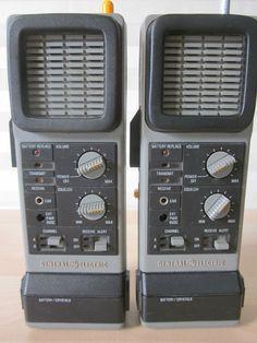 Vintage 1976 GE Transceiver CB Walkie Talkie Radios Model 3 5970A C7 | eBay