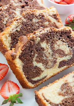 """German Marble Cake - """"This is a lovely cake with the taste ..."""