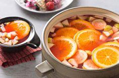 Ponche de tamarindo y fresa receta