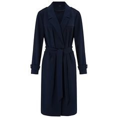Buy Miss Selfridge Belted Flud Mac Coat Online at johnlewis.com