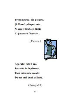 fileshare_200 de ghicitori pentru copii.pdf Finger Puppets, Red Riding Hood, Ursula, Riddles, Memes, Guessing Games, Meme, Puzzle
