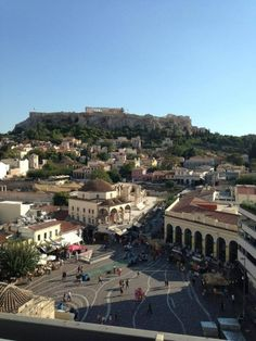 Athens, ancient Greece. Beautiful architecture and history of gods and goddesses