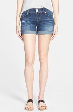 Hudson+Jeans+'Croxley'+Cuffed+Denim+Shorts+(Connection)+available+at+#Nordstrom