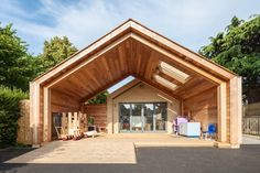 St Mary's Infant School - simple form - inside-outside space